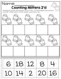 counting by 2 u0027s cut and paste and more hands on fun activities