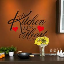 Wall Stickers For Kitchen by Stylish English Quotes Pattern Wall Sticker For Restaurant Kitchen