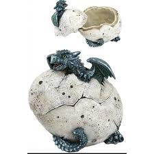 dragon home decor blue dragon baby hatchling box dragon home decor jewelry box