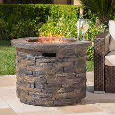 Propane Firepit Pits Chimineas For Less Overstock