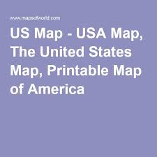 us map printable the 25 best map of usa ideas on united states map