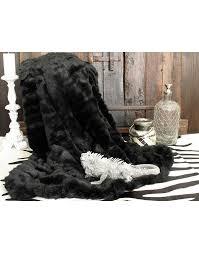 fur throws for sofas black panther fur throw large fur blankets bedspreads black throw