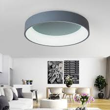 Led Bedroom White Round Ceiling - aliexpress com buy neo gleam white grey round modern led ceiling