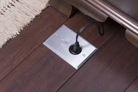 Hardwood Floor Outlet Recessed Electrical Outlet Floor Box Plates For Wood Finished