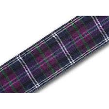 pride of bannockburn 25mm scottish tartan plaid ribbon x 25m reel