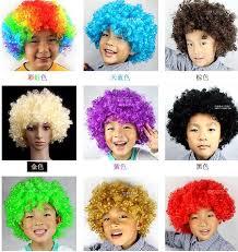2017 unisex clown fans carnival wig cap hat disco circus fancy