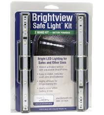 is led light safe liberty brightview 2 wand light kit the safe house nashville tn