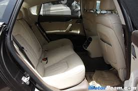 maserati india maserati quattroporte legroom motorbeam indian car bike news