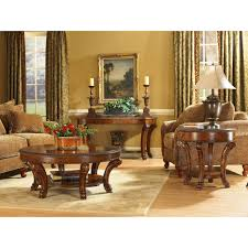 Round Living Room Table by A R T Furniture Old World Round Coffee Table Pomegranate