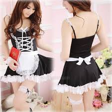 lingerie halloween costume french maid cosplay servant fancy
