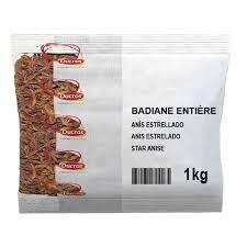 etoile de badiane cuisine anis étoilé ducros badiane entière 1kg cuisineaddict com achat