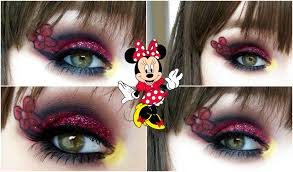 Minnie Mouse Halloween Makeup by Minnie Mouse Makeup Tutorial 2015 Youtube