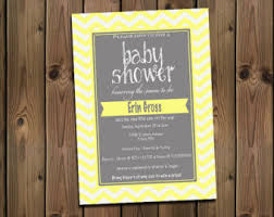 yellow and gray baby shower yellow and gray baby shower etsy