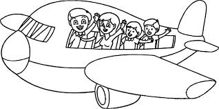 printable airplane coloring pages jet plane dusty summer vacation