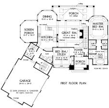 Angled House Plans First Floor Plan Of The Silvergate House Plan Number 1254 D