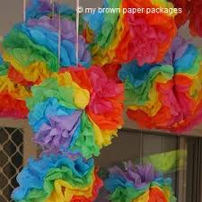 Rainbow Party Decorations 15 Rainbow Party Ideas To Make Your Party Shine Brown Paper