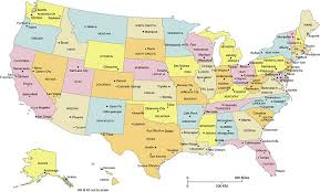 map usa chicago states cities united states major cities and capital cities map usa 50 editable