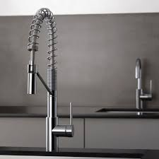 kraus commercial pre rinse chrome kitchen faucet kraus kpf2630260041 single handle commercial style pull