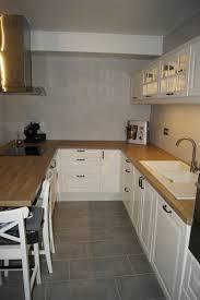 cuisine ikea blanche et bois cuisine ikea blanche home decoration bois blanc et robinsuites co