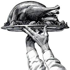 1st thanksgiving had no pilgrims and was more famine than feast