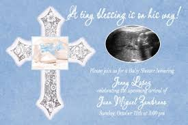 blessing baby tiny blessing boy baby shower invitation