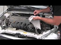 transmission toyota corolla 2003 2008 toyota corolla automatic transmission fluid inspection