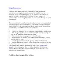 resume cover letter format proper best resume cover letter letter format writing best resume cover letters examples letter format