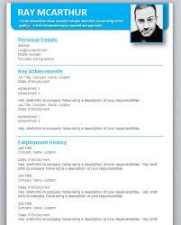 Free Microsoft Resume Template Resume Templates Free Download For Microsoft Word Resume