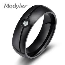 aliexpress buy 2016 new fashion men jewelry black cz zorcvens 2017 new fashion aaa cz wedding rings for women black