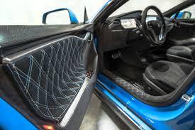 Tesla Interior Model S For Sale Unplugged Performance Complete Demo Car