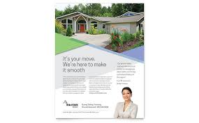real estate flyer templates word u0026 publisher