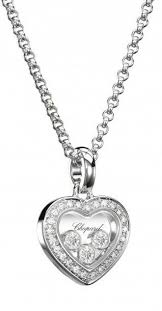 floating heart pendant necklace images Chopard whtie gold 3 floating diamonds heart pendant 794502 1001 jpg
