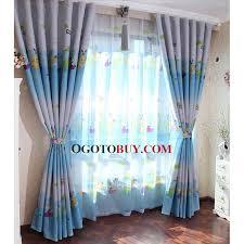blue energy saving chambre d enfants rideaux de polyester acheter