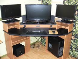 gaming computer desks for home decorative desk decoration