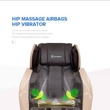 real relax electric shiatsu massage chair foot roller zero gravity
