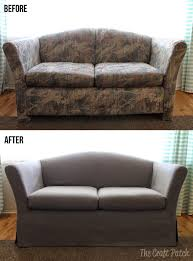 ugly couch the craft patch the saving of an ugly couch