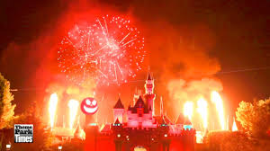 disneyland halloween screams fireworks 2013 full show front
