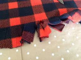 plaid tree skirt 504 by lefevre no sew buffalo plaid christmas tree skirt
