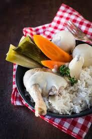 cuisiner poule poule au pot et riz sauce crémeuse c est le moment de cuisiner