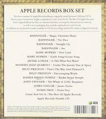 various artists apple records box set 17 cd box set amazon