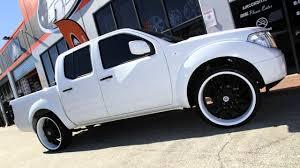 2015 nissan frontier custom nissan d40 navara 24 inch custom rims painted lexani lss10 black