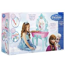 frozen vanity table toys r us frozen crystal kingdom vanity vanity cases amazon canada