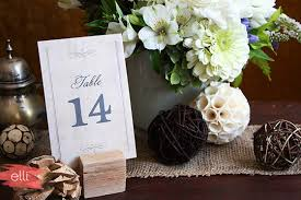 Wedding Table Setting Wedding Table Numbers Table Setting Decor The Elli Blog