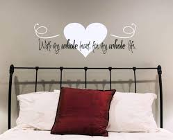 create perfect romantic wall decals decoration furniture image of romantic wall decals heart