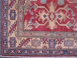 very rare design armenian weave fine eagle kazak rug