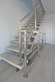 Metal Landing Banister And Railing Dolle Rome 3 5 Ft Gray Prefinished Beechwood Steel Stair Railing
