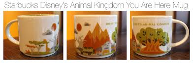 animal mug animal kingdom starbucks sparklyeverafter com