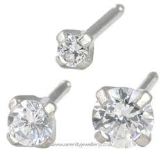 what is surgical steel earrings hypoallergenic studex tiny tips surgical steel cubic zirconia
