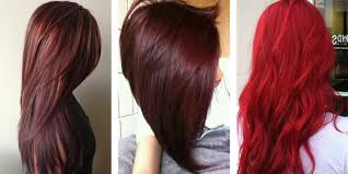 Different Shades Of Purple Names The 21 Most Popular Red Hair Color Shades