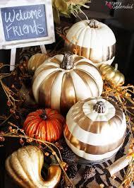 pumpkin decoration 30 no carve pumpkin decoration ideas tutorials listing more
